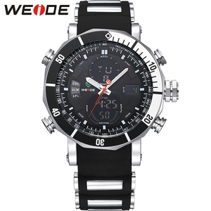 Luxury Brand WEIDE Quartz Wrist Watches Business Men Watch Quartz Analog-digital Japan Quartz Wrist Military Wrist Watch WH5203