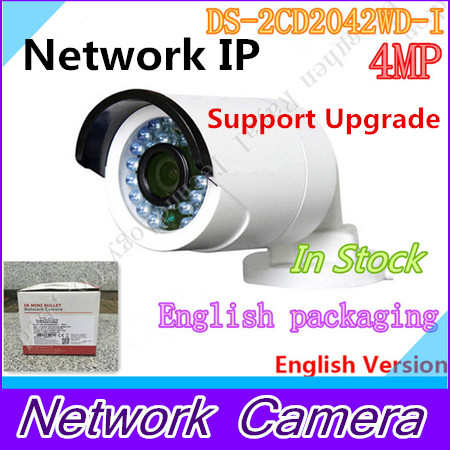 HIKVISION DS-2CD2042WD-I Original English Oversea Version IP camera POE security Camera P2P Onvif H265 CCTV camera H265 HIK hik ds 2de7220iw ae original english version 2mp ptz ip camera cctv camera security camera surveillance poe onvif p2p hik