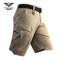 Quick Dry City Tactical Cargo Shorts Outdoor Sports Multi pocket Riding Short Trouser Army Fan Military Training Climbing Shorts