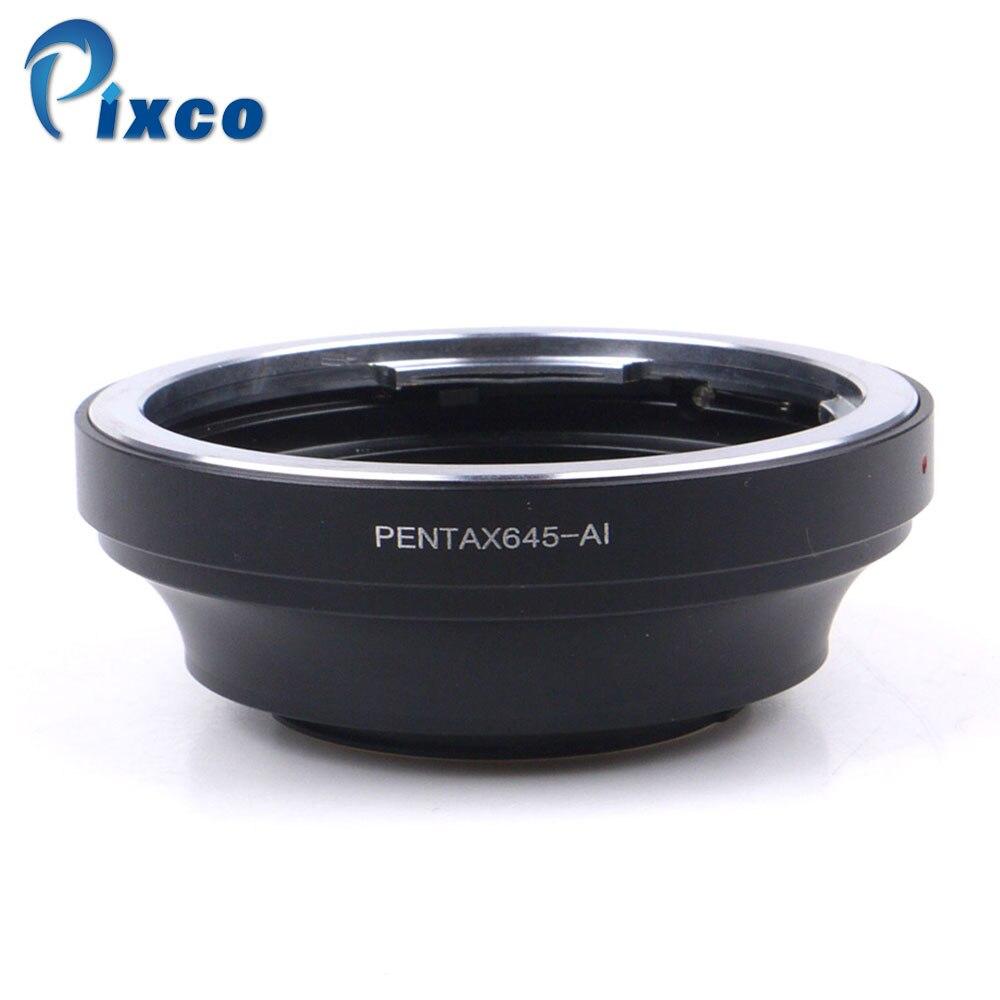 PIXCO PK/645-AI adaptateur de lentille convient à Pentax PK 645 Lens pour Nikon AI Caméra