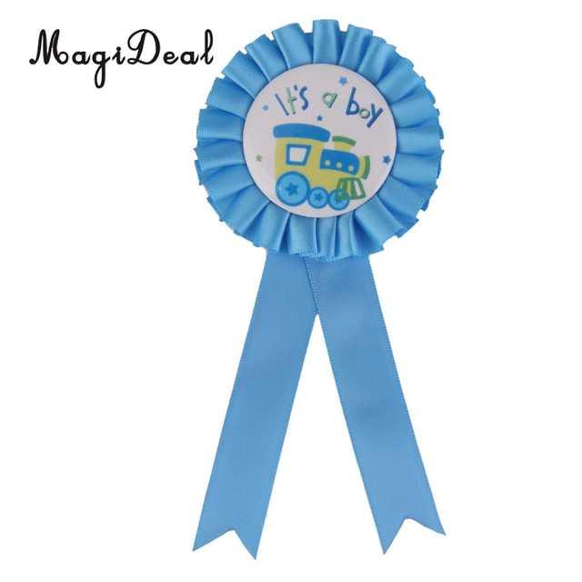 204 22 De Réductionmagideal Joyeux Anniversaire Cest Une Fillegarçon Maman à être Bébé Douche Prix Ruban Badge Fête Faveurs Cadeau Bébé Douche