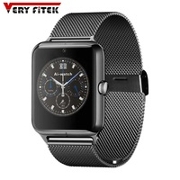 Bluetooth 4 0 Smart Watch 1 54 Inch Support SIM Card With Heart Rate NFC J50