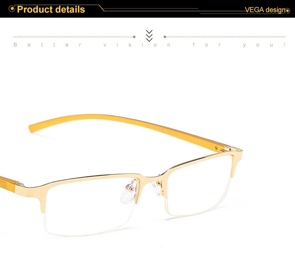 Eyewear Square Gaming Computer Glasses Women Men Blue Semi-rimless Light Glasses Comfortable Blue Glasse (10)