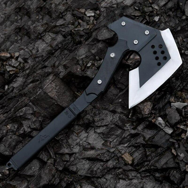 CF tactique hache Tomahawk armée en plein air chasse Camping survie machette outils à main hachette glace Poleaxe livraison gratuite