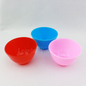 DIY Facial Care Mask Bowl , Makeup Beauty Tool, Colored Mask Bowl, Empty Cosmetic Container (30PC/Lot)