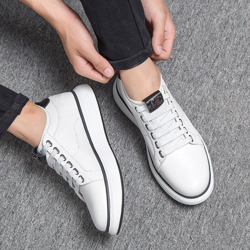 Picture Espadrilles Aa51682 De Vulcanisé Mâle Respirant 2 slip 1 Classique Lacent blanc Confortable Noir Chaussures Anti as as Mode Hommes Marche qUVSzpGM