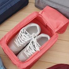 Travel Home Necessity 1 PCS 27*11*15cm Household Furniture Organizer Portable Waterproof Nylon+Mesh  Shoe Storage Bags
