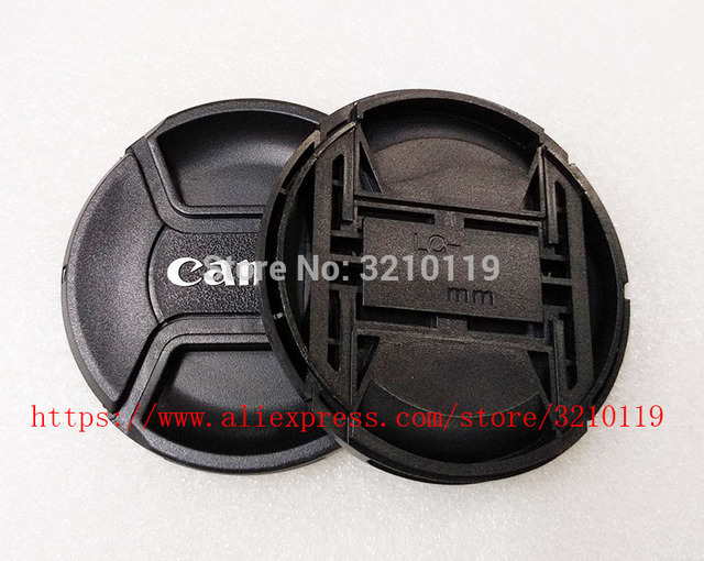 30 pcs 카메라 렌즈 캡 커버 43mm 49mm 52mm 55mm 58mm 62mm 67mm 72mm 77mm 82mm logo for canon (please note size)