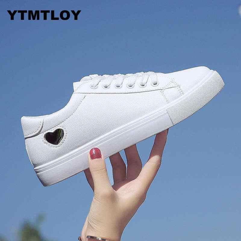 2019 ใหม่ Wedges รองเท้าสีขาวหญิงรองเท้าผ้าใบผู้หญิง Tenis Feminino Casual ผู้หญิงฤดูร้อน Zapatos De Mujer Canvas