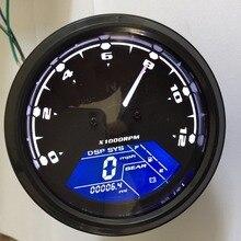 Цифровой измеритель скорости для мотоцикла, одометр, винтажная приборная панель, измеритель скорости, датчик скорости мотоцикла, универсальные запчасти для квадроцикла