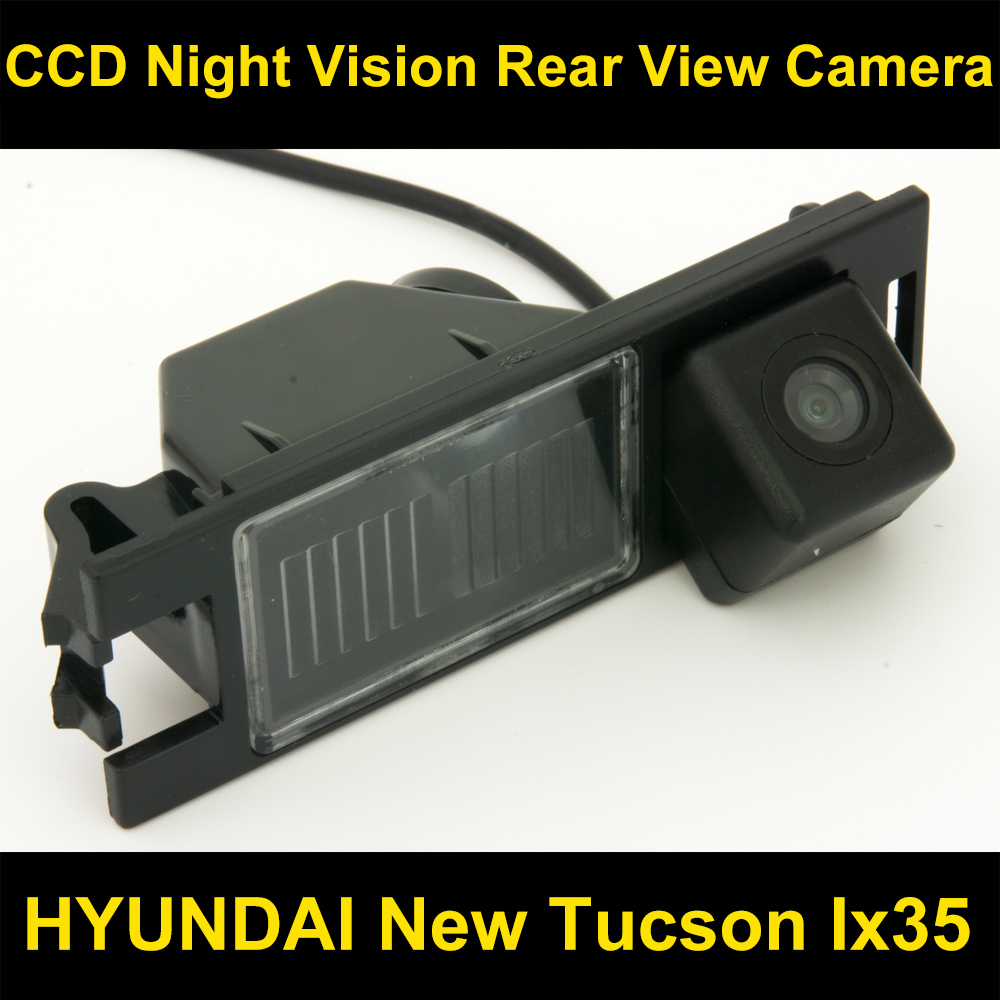 Ccd Car Rear View Backup Reverse Parking Camera For Hyundai New Tucson Ix35 2005 2006 2007 2008