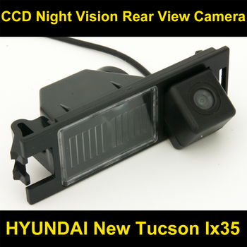 CCD Car Rear view BackUp Reverse Parking Camera For Hyundai New Tucson IX35 2005 2006 2007 2008 2009 2010 2011 2012 2013 2014
