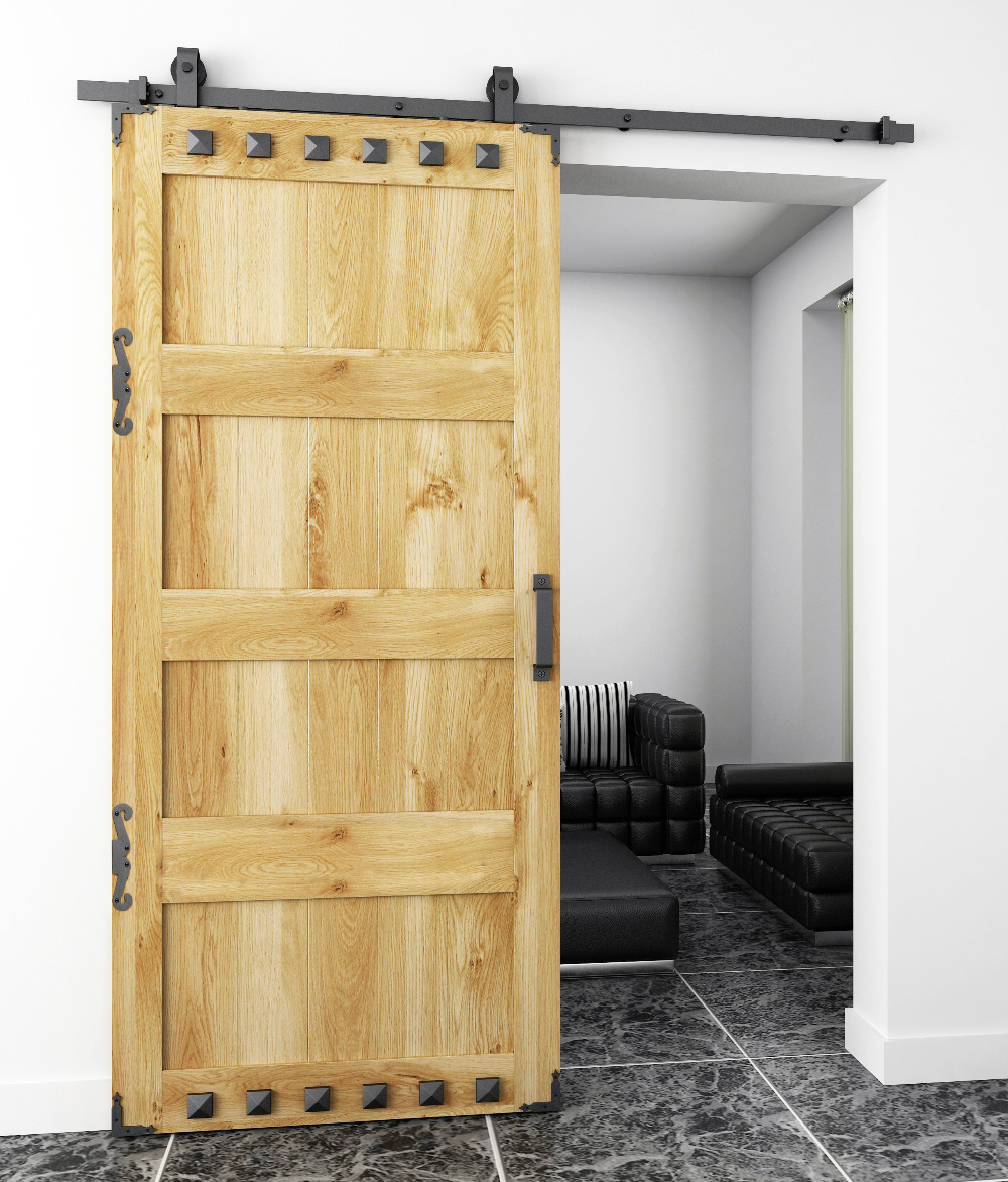 century barn budd door modern geometric on ideas best decorative a hidden inspired doors apartment pinterest barns accents sliding mid home with images