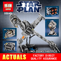 Lepin 05045 New 1487Pcs Genuine Star War Series The B-wing Starfighter Building Blocks Bricks Educational Toys 10227