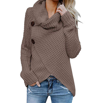 Women's Fashion soft warm top Women Long Sleeve Solid warm Pullover Tops Blouse Shirt Add color