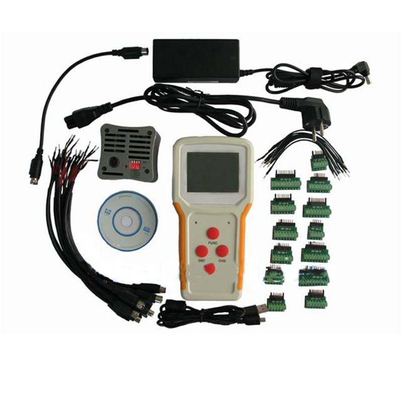 Portable laptop battery tester test charge / discharge battery capacity correction Battery data analysis 110w constant current electronic load tester 10a 1v 30v battery discharge capacity test equipment