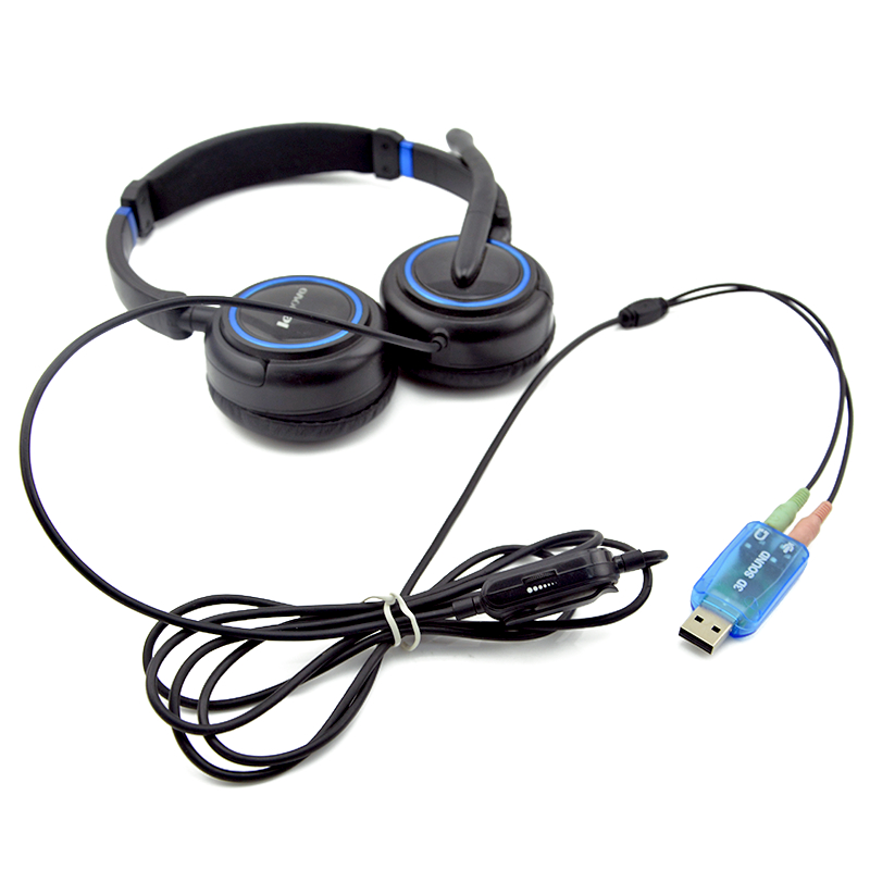 Image 5 - USB Sound Card 3.5mm Usb Adapter 3D Audio 5.1 Mini External Interface Mic Speaker For Laptop PC Computer Micro Data De Audio-in Sound Cards from Computer & Office
