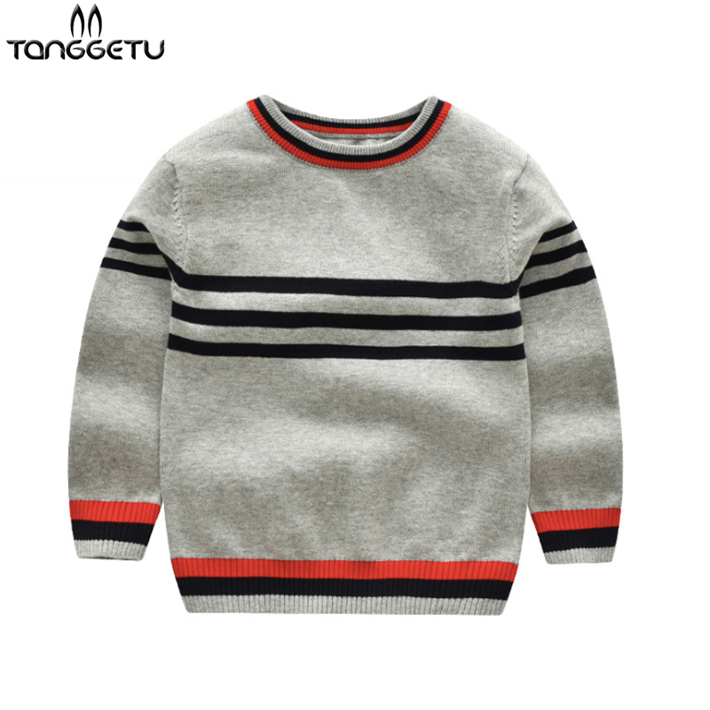 651da9972 Hot Sale Boys Sweater 2018 Autumn Brand Design Wool Knitted Pullover ...