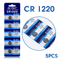 Bateria botão CR1220 DL1220 BR1220 ECR1220 LM1220 3 V Botão de Célula tipo Moeda Bateria Massa Lote 5 Pcs EE6219 57