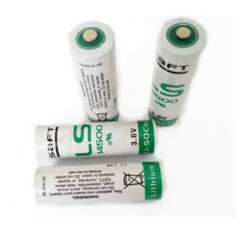 Lithium-Battery Aa 3.6v LS14500 Spare-Generic SAFT 2450mah 4PCS for Facility-Equipment
