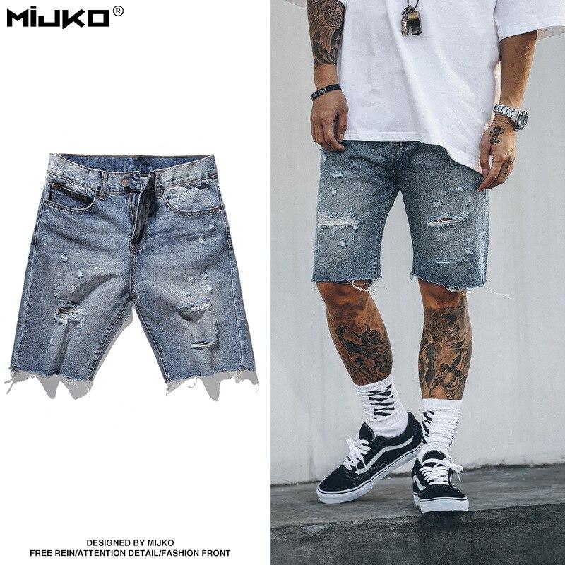 Big Mens Jean Shorts