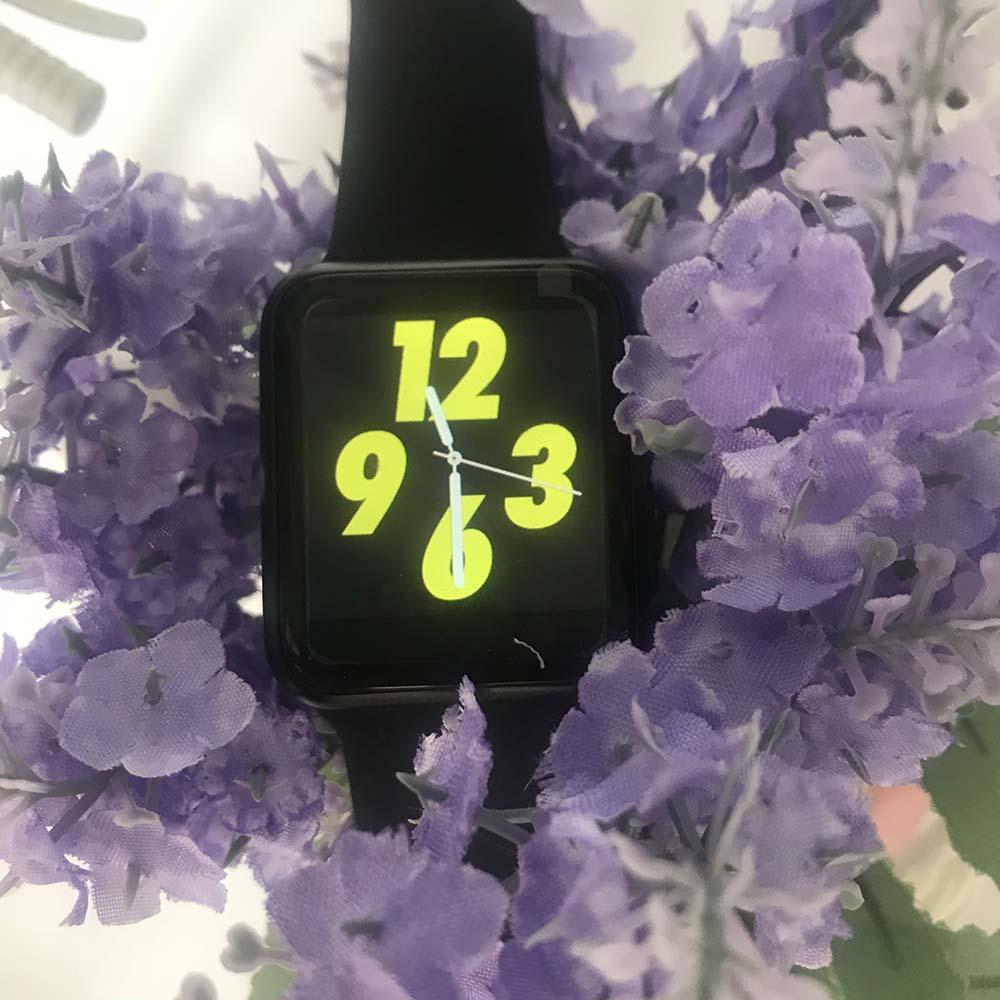 IWO 5 Smartwatch 42mm di caso di Bluetooth Orologio Intelligente per IOS Phone e Android di Sostegno Del Telefono SMS Facebook Whatsapp di sincronizzazione