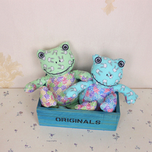 Korea Cute Frog Toys Cloth Dolls Kids Toys for Children Birthday Gifts Party Decor Soft Cartoon Toys