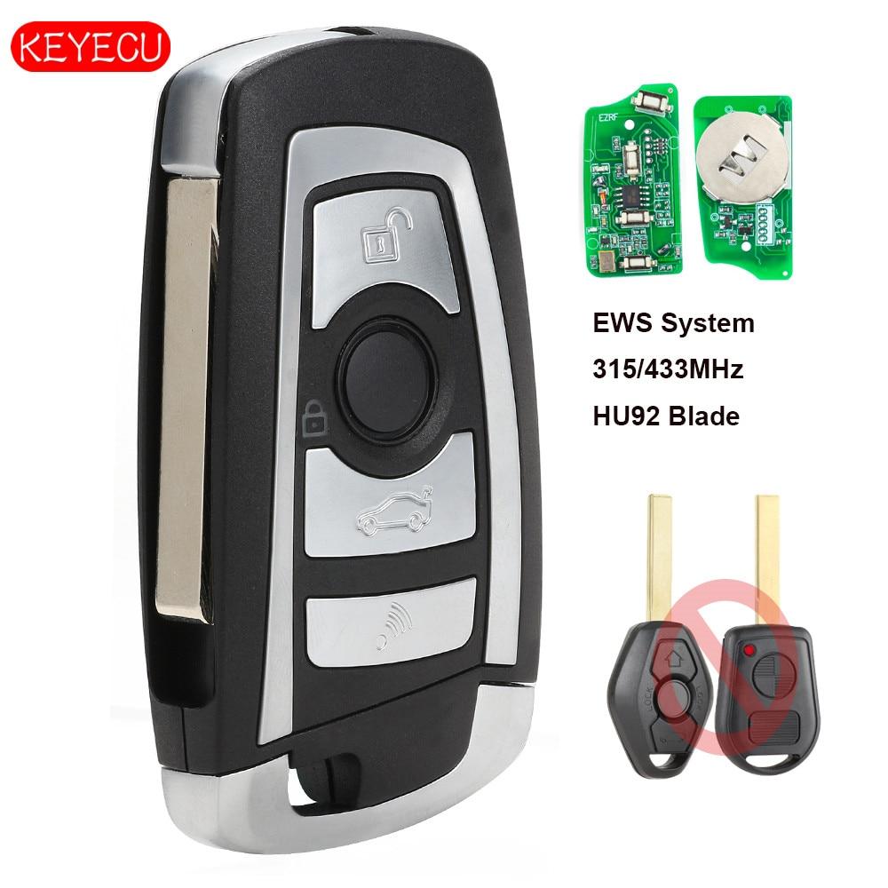 Remote Key Fob 315MHz//433MHZ PCF7935 Chip For BMW 3,5,7 SERIES X3 X5 E65 E38 E39