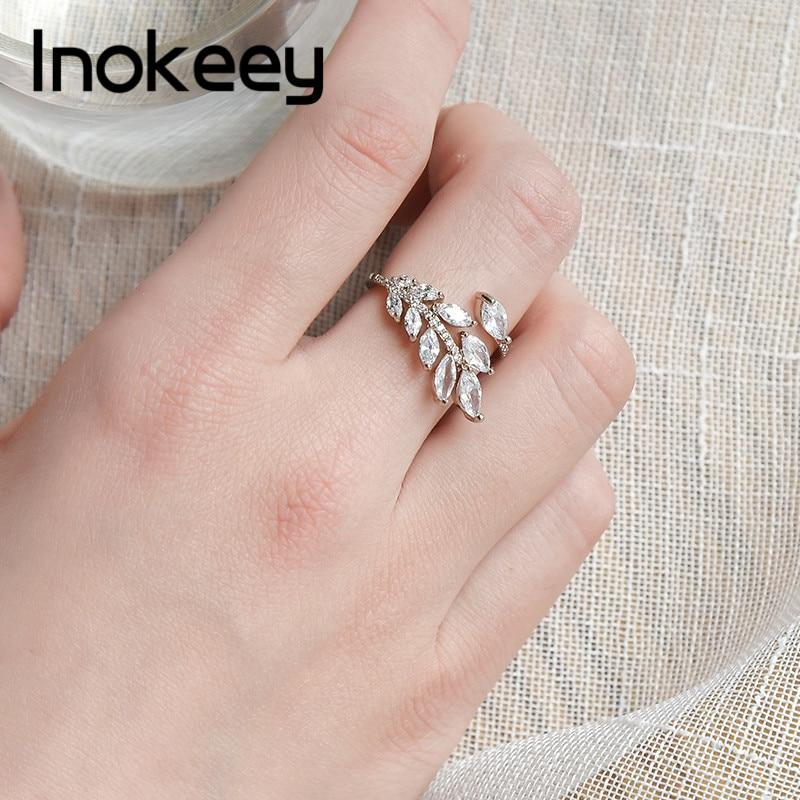 Inokeey Copper Butterflies Adjustable Open Ring For Women 2019