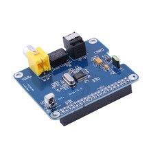 Raspberry pi Specific HIFI DiGi Expansion Board+ Digital Sound Card I2S SPDIF Optical Fiber Module for Raspberry Pi 2/A+/B+