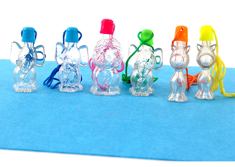 Plastic bottles for sand art animals containers 3cm x 9cm