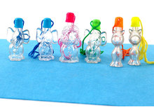 Plastic bottles for sand art  animals containers  3cm x 9cm цена и фото