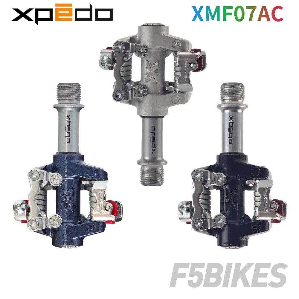 Wellgo Xpedo XMF07AC pédales de vélo roulements ultralégers 289g vtt VTT pédales XPD auto-bloquantes clipless bicicleta clip