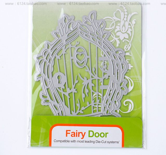 Fairy Door Die Cut Set 1006e Scrapbooking Dies Metal Embossing