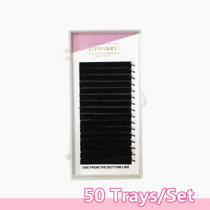 50cases 7mm  15mm  high quality eyelash extension mink. false eyelash free shipping-in False Eyelashes from Beauty & Health