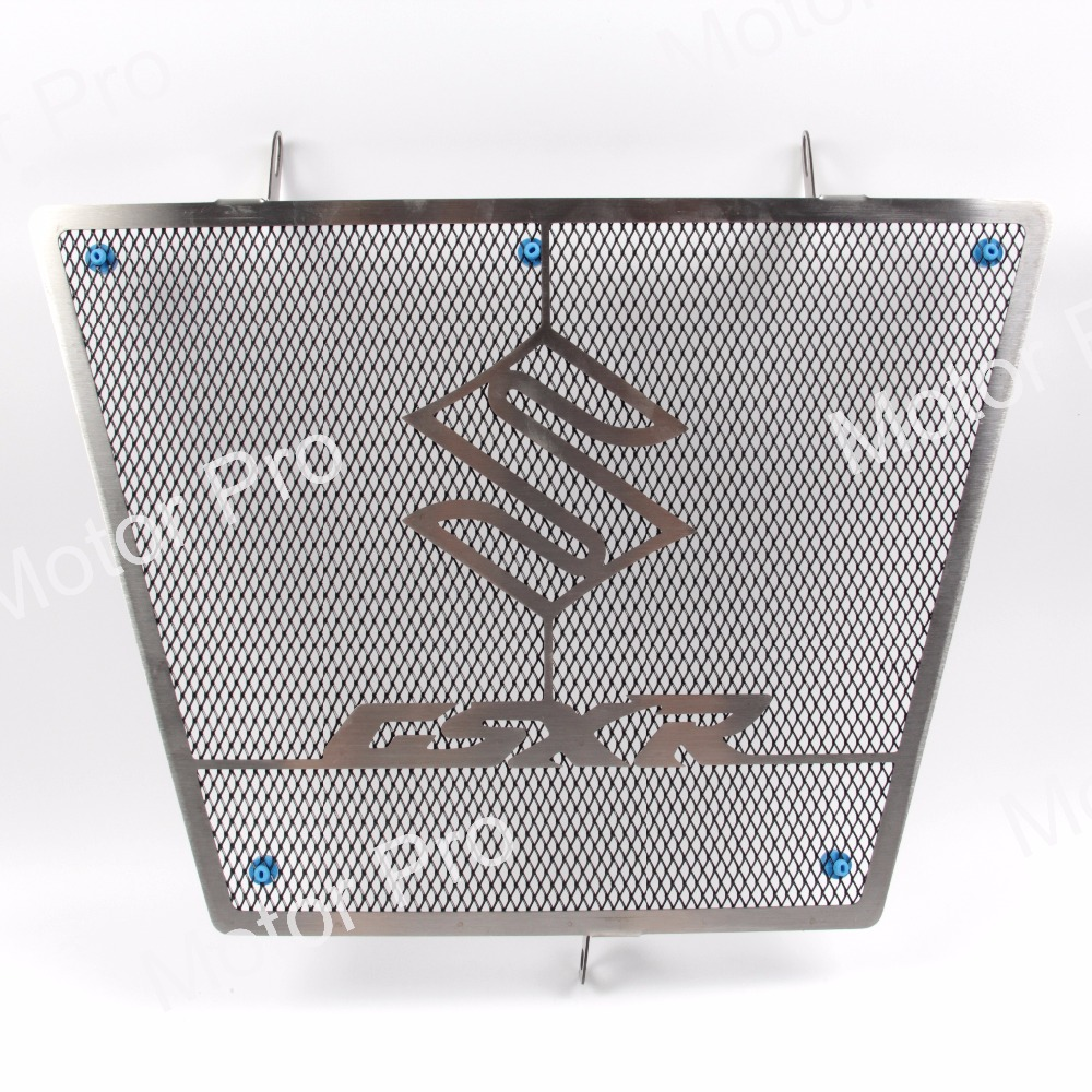 For <font><b>Suzuki</b></font> <font><b>GSXR</b></font> <font><b>600</b></font> <font><b>2008</b></font> 2009 2010 Radiator Grille Protective Cooler Guard Motorcycle Accessories GSX R GSX-R GSXR600 08 09 10 image