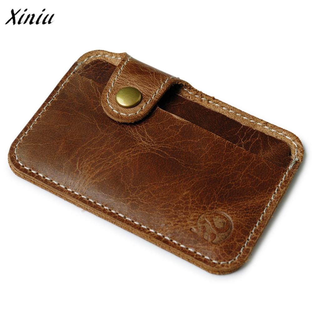 wallet men luxury brand Credit Card wallets brown Slim Mini Wallet ID Case Purse Bag Pouch  visiting card holder hot sale fashion solid pu leather credit card holder slim wallet men luxury brand design business card organizer id holder case no zipper