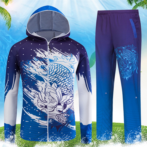 secagem rápida anti uv 40 + anti mosquito pesca camisas calças