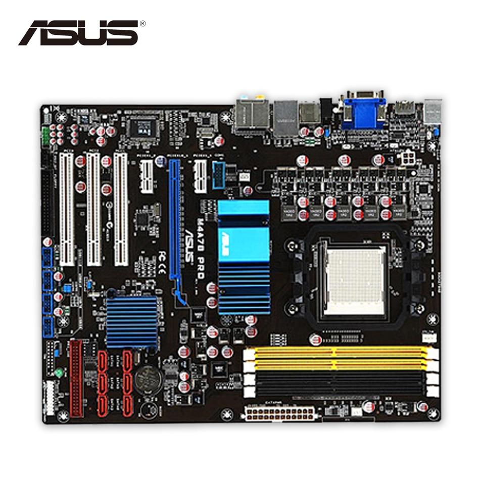 Asus M4A78 PRO Desktop Motherboard 780G Socket AM2 DDR2 SATA2 USB2.0 ATX Second-hand High Quality