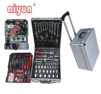 186pcs socket set Tools Set Socket Wrench Set auto repair car Aluminum Case
