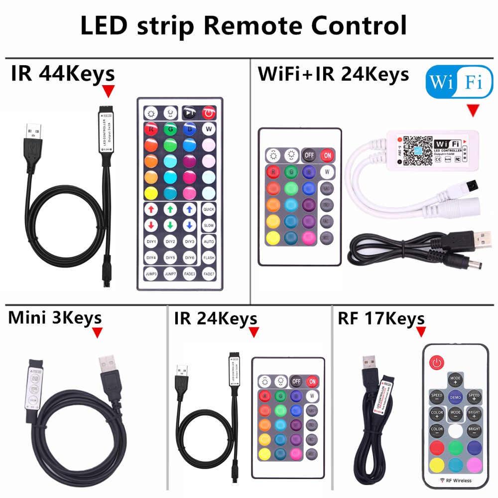 TV Backlight RGB LED Strip 5050 Waterproof DC 5V USB LED Tape String Bias lighting For HDTV Screen Desktop PC LCD Monitor Decor
