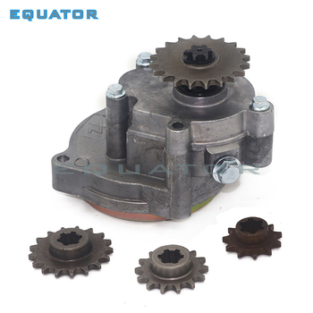 T8F Clutch Drum Gear Box with 11T 14T 17T 20T Sprocket  for 33cc 43cc 49cc Rod II Go Kart Mini Moto Dirt Bike Scooter ATV buggy