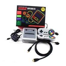 Mini TV oyun konsolu Desteği HDMI 8 Bit Retro video oyunu Konsolu Dahili 621 Klasik TV Oyunları El Aile video oyunu