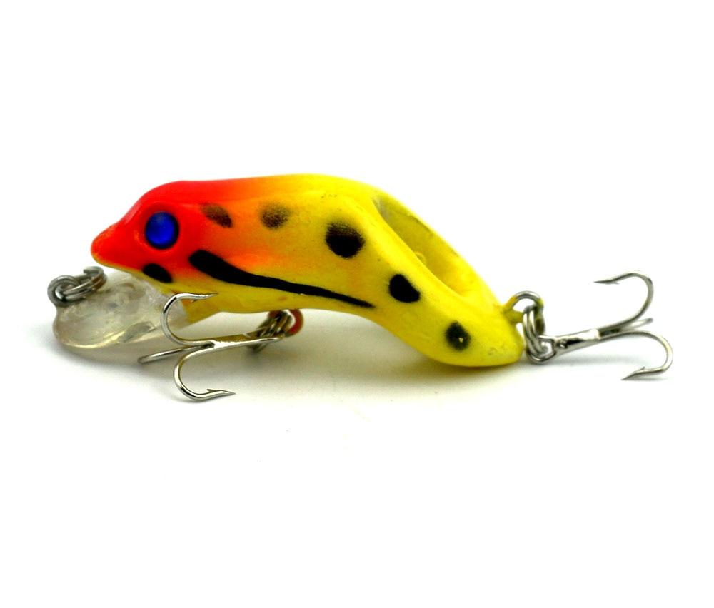 HENGJIA 6 copë 5.5cm 8,9g peshkim i fortë me bretkosë plastike - Peshkimi - Foto 4