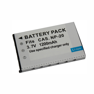 3.7V 1200mAh Rechargeable Camera Battery for Casio Exilim EX-Z3 EX-Z4 EX-Z5 EX-Z6 EX-Z7 EX-Z8 EX-Z11 EX-Z60 EX-Z65 EX-Z70