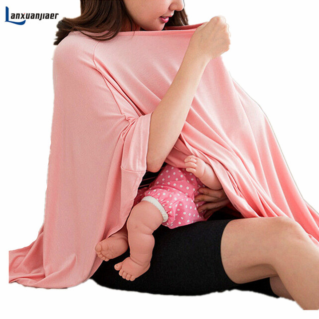 edf05792d30a2 Lanxuanjiaer Breastfeeding Cover Nursing Covers Shawl Breast Feeding  Printed Nursing Covers Baby Feeding Care Covers 3 color