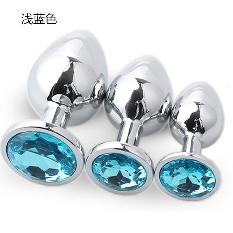 Novel Designs Famous For Selected Materials Delightful Colors And Exquisite Workmanship Sex Shop Anal Sex Toys Color 3pcs/set High Quality Stainless Steel Anal Plug Metal Anal Massage Plug Adult Sex Games Products