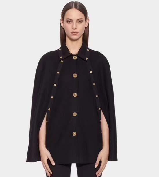 Модные Многослойные и пончо женские дикие пальто женские нарядные шали элегантные пончо и cnd накидки 2018 осень зима шаль пальто
