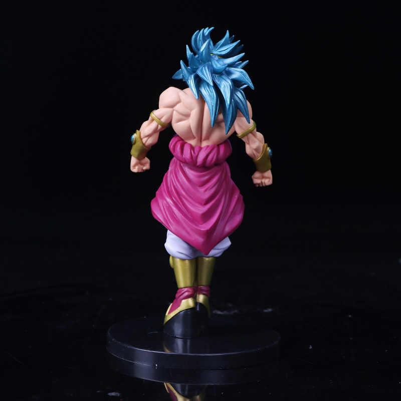 20 centímetros Dragon Ball Z Action Figure Brinquedos DBZ Broly Permanente Modelo Super Saiyan Goku PVC Collectible Presente