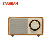 Sangean PURE Free shipping wooden wireless bluetooth speaker vintage radio fm portable speaker
